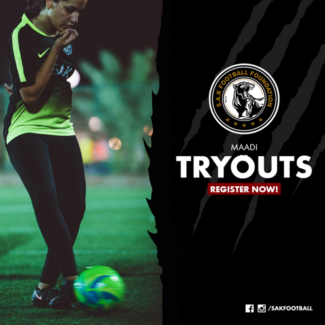 Tryouts_maadi
